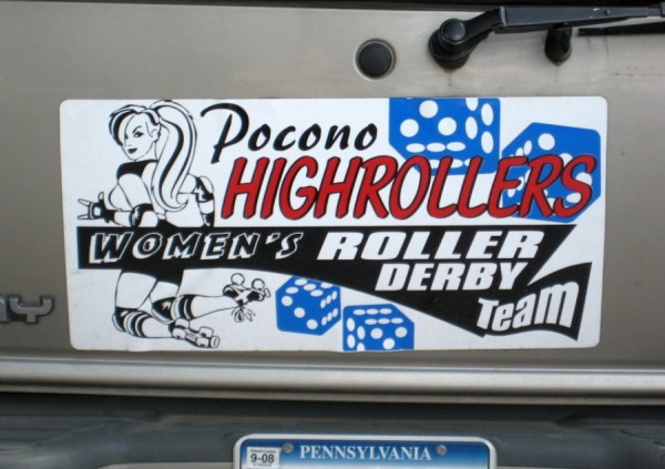 dirty bumper stickers