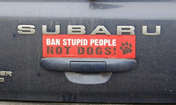 dogs pumper stickers