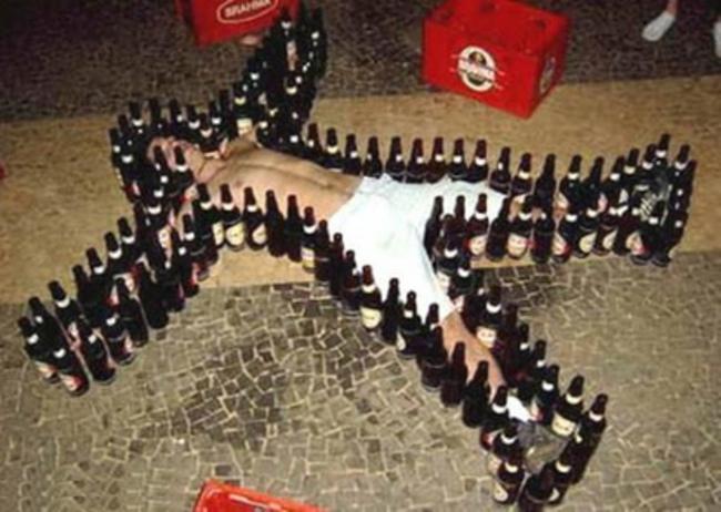 drunk person
