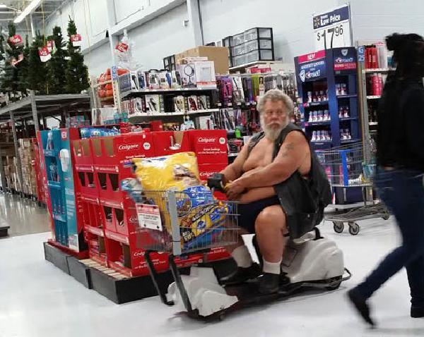 fat people at walmart