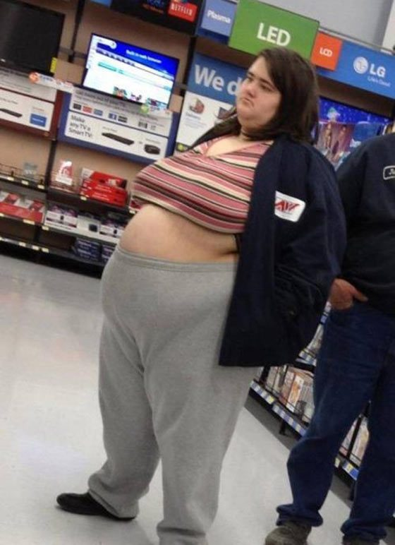 fat people of walmart