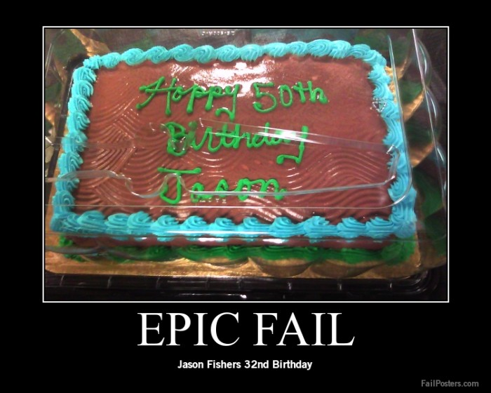 funny birthday fail
