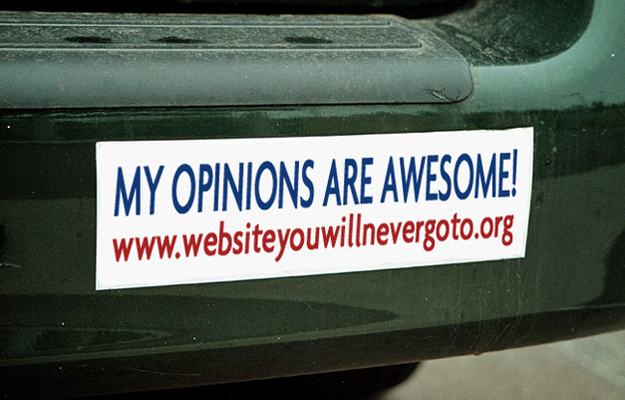 Top 10 Funny Bumper Stickers