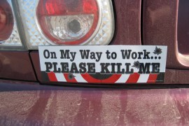 funny bumper stickers facebook