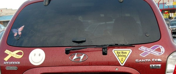 mom bumper stickers