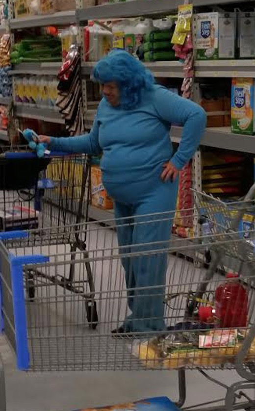 people at walmart dressed bad