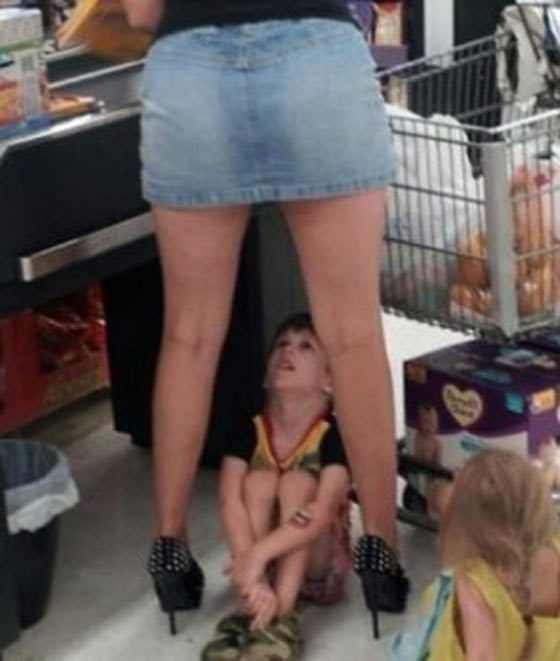people shopping at walmart