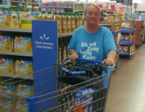 pics of people at walmart