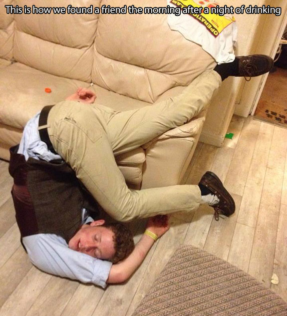 picture of drunk person