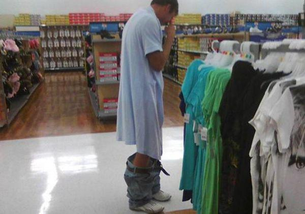 pictures of people at walmart