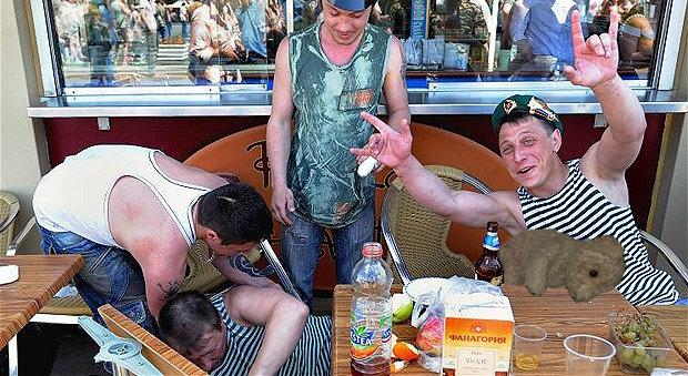 russian drunk