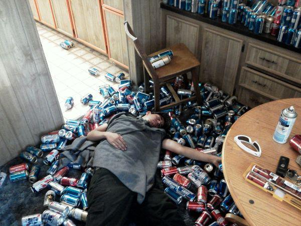 sleep drunk