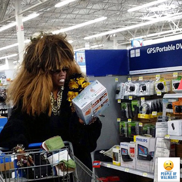 weird people in walmart