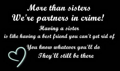 sister quotes funny and cute