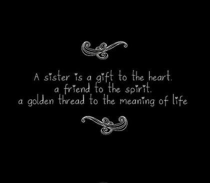 my sister quotes