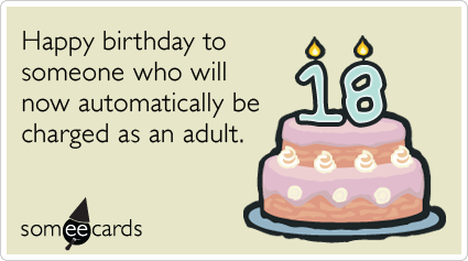 The 50 Best Funny Birthday Ecards Of All Time – Funny 18th Birthday Card