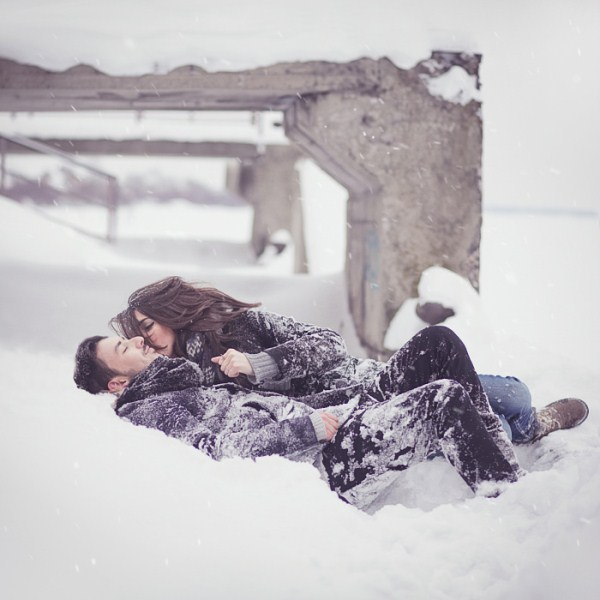 cute couple hug