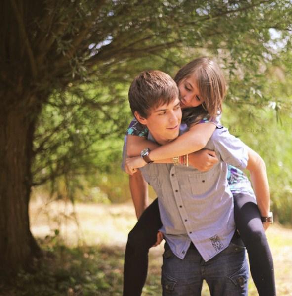 cute couples hugging