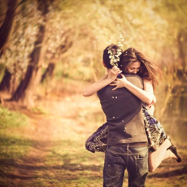 cute loving couple