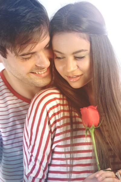 cute romantic couple