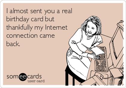 free happy birthday ecards