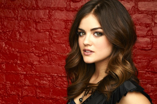lucy hale hair color