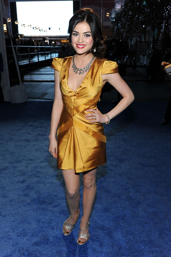 lucy hale height