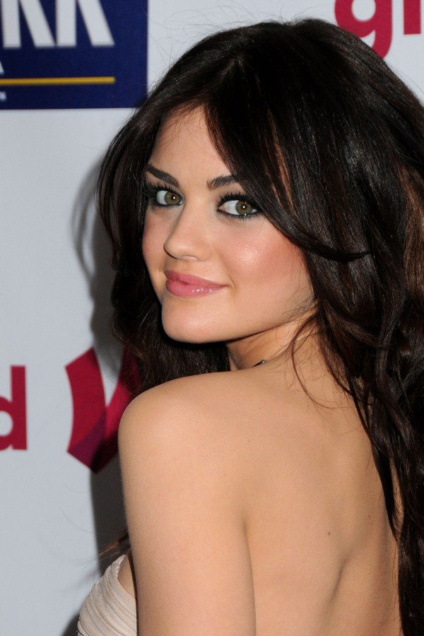 lucy hale sexy back