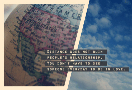 relationship distance quotes