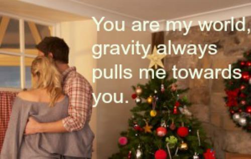 romantic christmas quotes