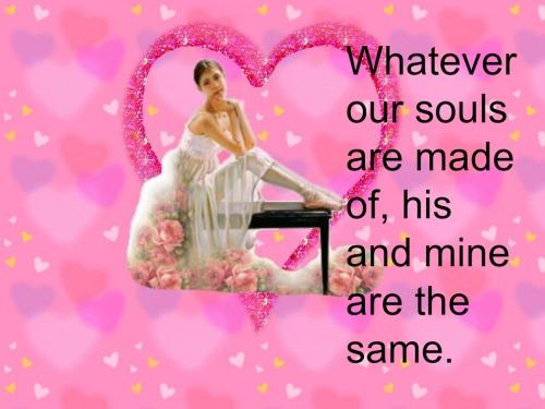 romantic quotes him