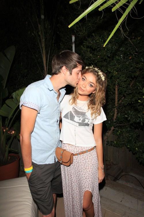 sarah hyland with her boyfriend