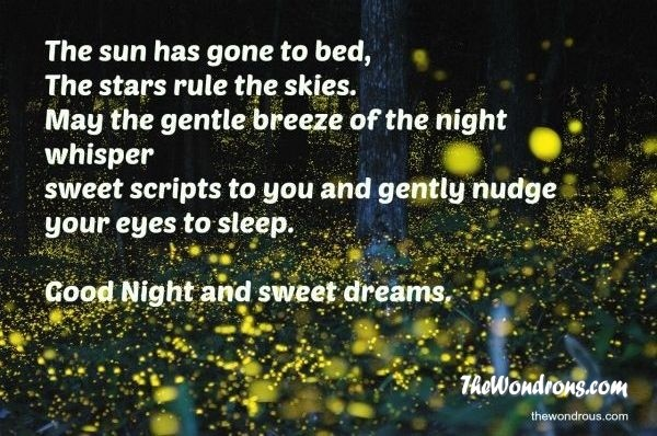 beautiful good night quotes