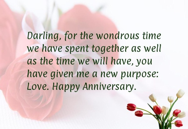 Wedding Anniversary Quotes Cute First