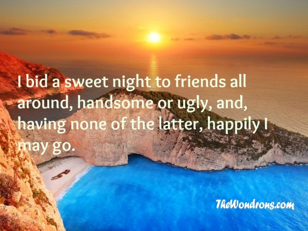 good night images with quotes for friends