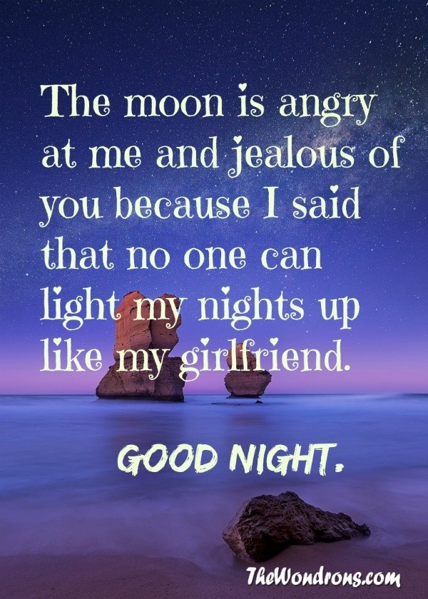 Love Quotes For Her To Say Goodnight : Goodnight Cute Love Quotes For Her - Valentine Day