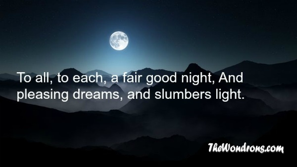 Best goodnight quotes for friends : The best good night quotes of all time