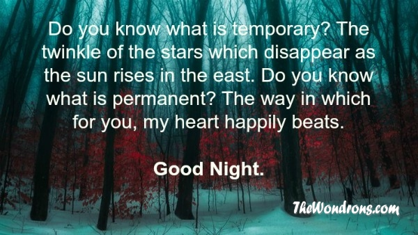 inspirational good night quotes like success