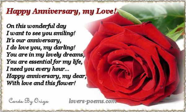 love anniversary wishes