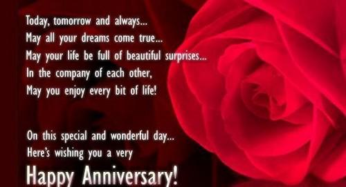 marriage anniversary greetings