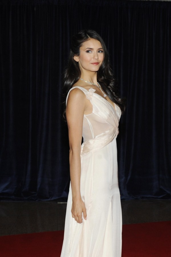 nina dobrev photoshoot dress