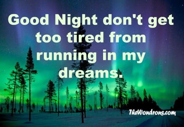 Short good night quotes for her images