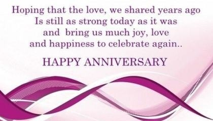 The 38 best wedding anniversary wishes of all time messages wedding anniversary quote m4hsunfo