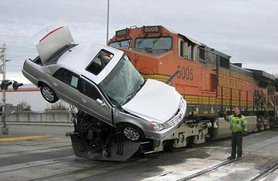 funny car accident photos
