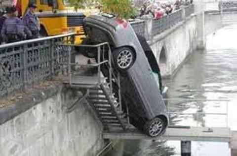 αστείο ναυάγια αυτοκίνητο