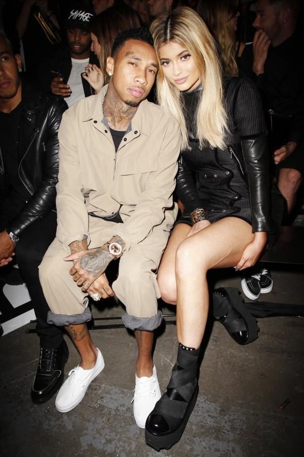 Kylie Jenner with boyfriend