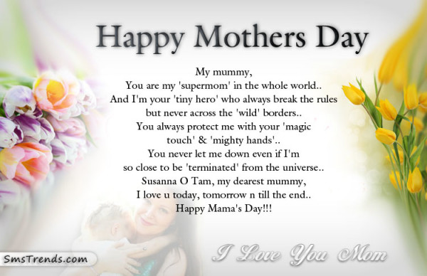 happy mother day sayings