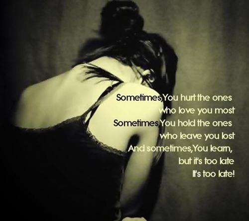 unhappy love quotes