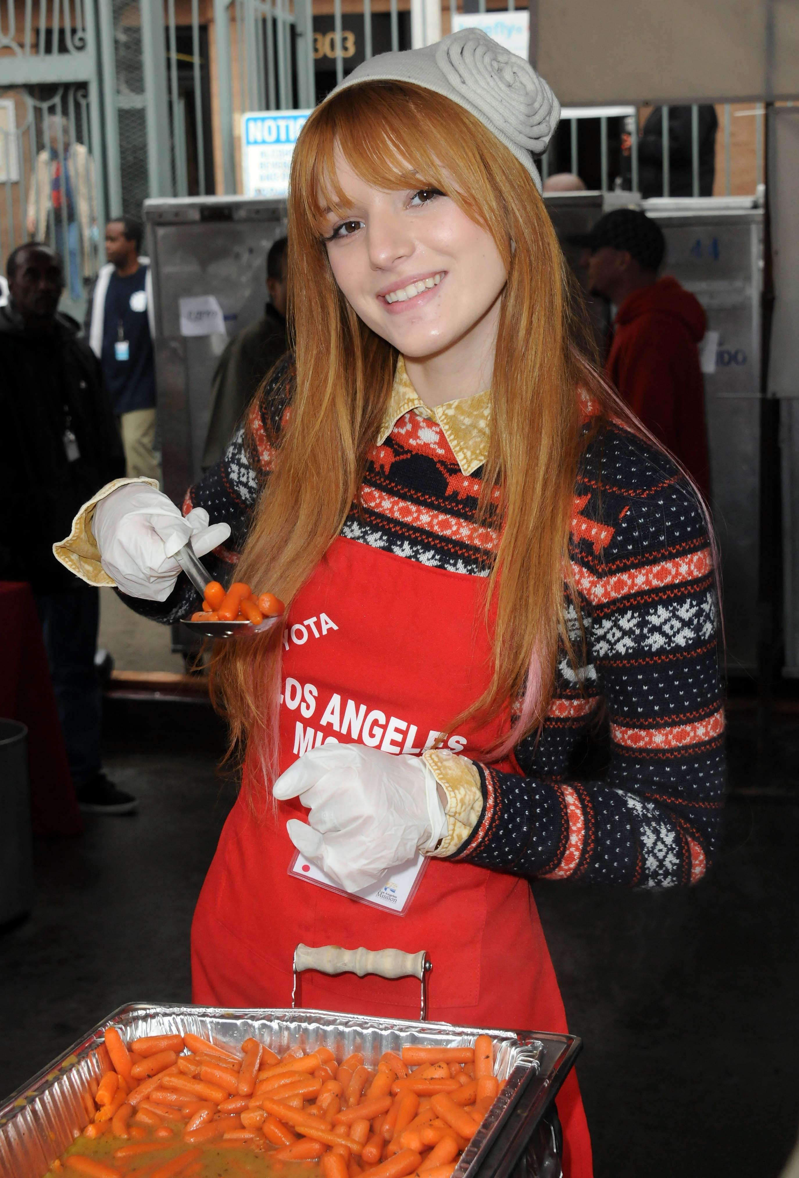 what bella thorne is cooking