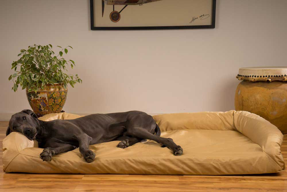 large dog beds the 19 best dog beds for large dogs. Black Bedroom Furniture Sets. Home Design Ideas
